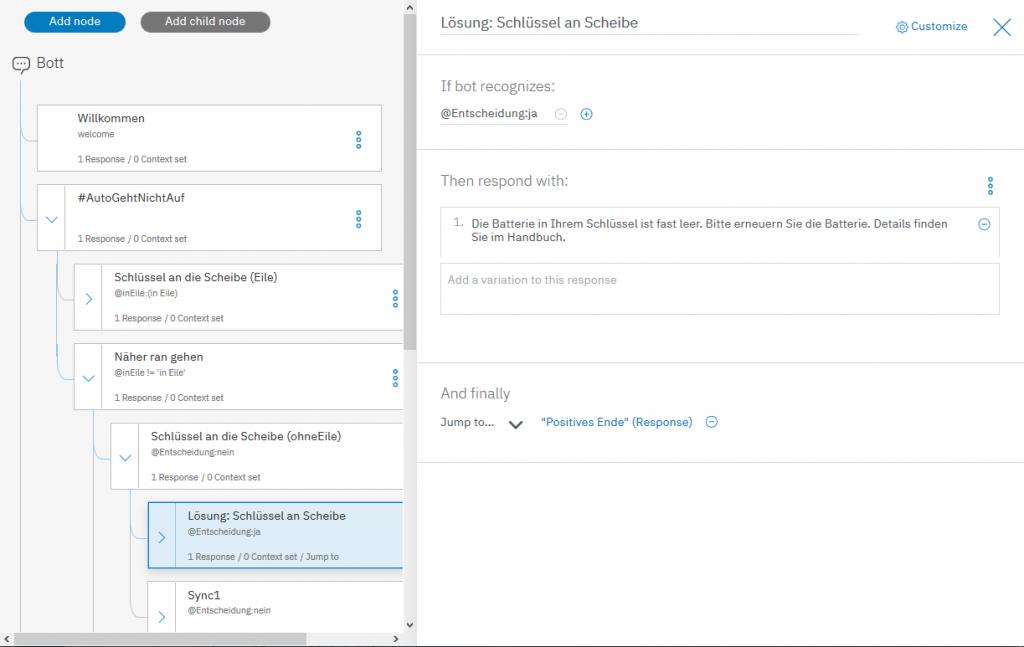 Screenshot IBM-Watson